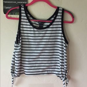 Woman's crop top from wet seal